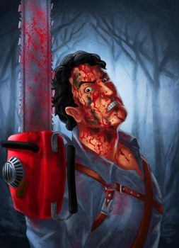 Ash Williams by wildcard24