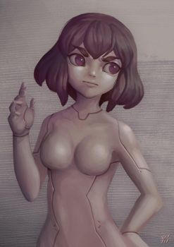 Ghost In The Shell by WaeSyndrome