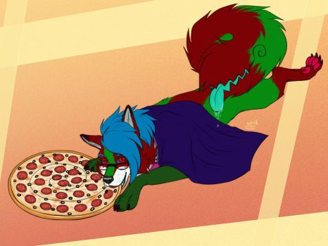 YCH - Pizza time by Do-El