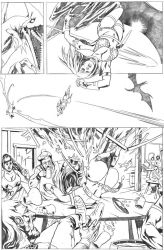 Red Sonja page 2 - tryout by vitorgorino