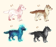 Dog Adoptables Batch [closed] by anouki-morgenstern