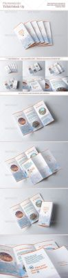 Photorealistic Trifold Mock-Up by kotulsky