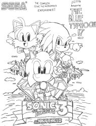 Sonic the Hedgehog 3 and Knuckles (REDO....again) by BlueTyphoon17