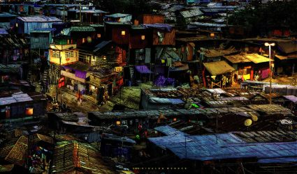 The Ghetto at Night by rgmendes