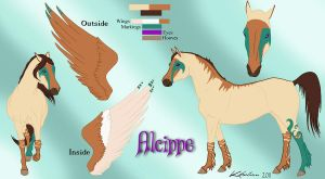 Alcippe's Reference Sheet by legolin