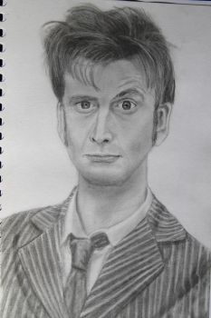 10th Doctor by MissMels