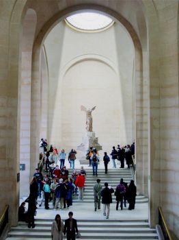 Winged Victory of Samothrace by arcanjel