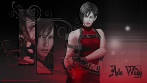 Ada Wong Wallpaper 1 by xGamergreaserx