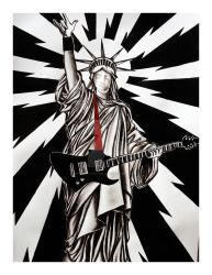 Rock Out Liberty by OurLady-OfSorrows