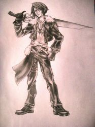 Squall Leonheart by Alfuss