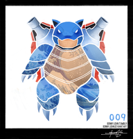 Blastoise ! Pokemon One a Day! by BonnyJohn