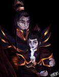 Fire Nation Royalty by Barbaraax