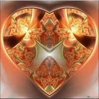 The Heart Of India by Brigitte-Fredensborg