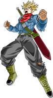 Trunks SSJ DBS by SaoDVD