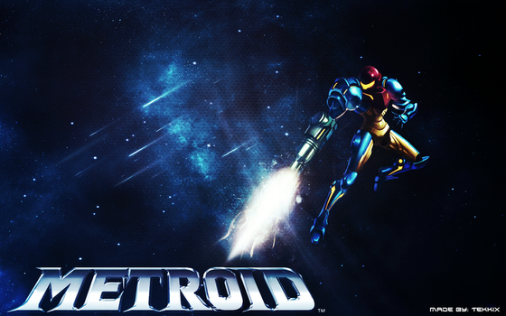 Metroid Background by Tekkix