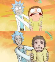 Rick and Morty by LZonnaArt