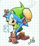 Link Sonic XD by AriLorenHedgehog