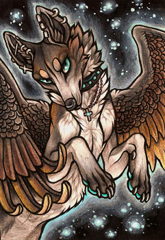 ACEO Hereafter by CanisAlbus