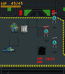 SciFi  Tactical Combat Mockup by Johasu