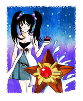 Staryu and trainer?
