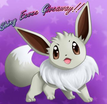 Shiny Eevee giveaway - CLOSED!! by Lesh4537
