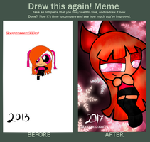 Meme Before And After 2013-2017 by Glittergirl202