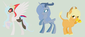 (OPEN) Reselling Ponies 1/3 by Violeta-Adopts