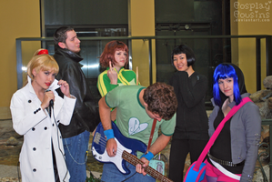 Scott Pilgrim Cosplay Group by CosplayCousins