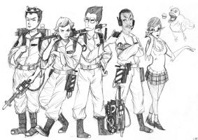 Ghostbusters Sketch by MaximoVLorenzo