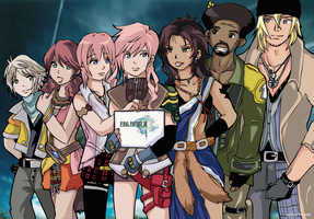 Final Fantasy XIII Group by Paizy