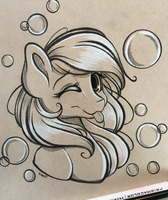 Bubbly Mare by EmbersLament