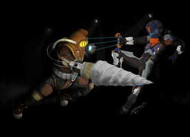 Subject Delta Vs Isaac Clarke by bluemage13