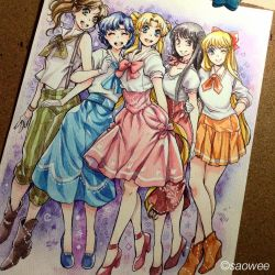 Sailor moon group by saowee