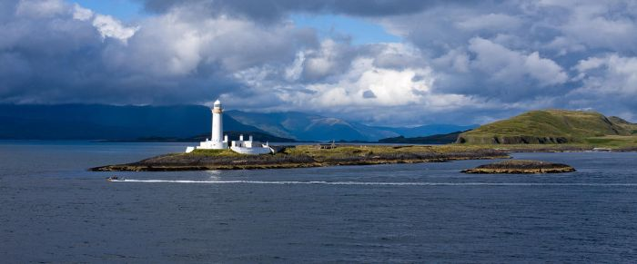 Lismore Lighthouse I by largethomas