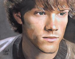 Sam from Supernatural by sketchychick