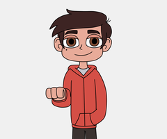 You want to brofist Marco Diaz by Deaf-Machbot