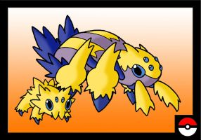 Joltik Family by ZappaZee