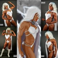 Cosplay Monday With Tanya Youngblood As Storm by zenx007