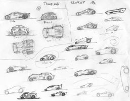 some car consept sketches by DStraX