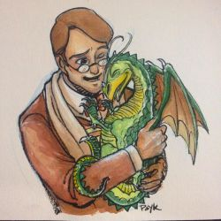 Flight of Dragons Peter and Gorbash by PsychedelicMind