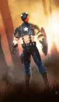 Captain America 2011 by PainthatImausedto