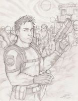 Chris Redfield RE 5 2007 by Holly-the-Laing