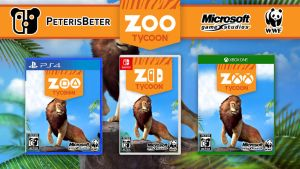 Zoo Tycoon Game PS4 Nintendo Switch Xbox One by PeterisBeter