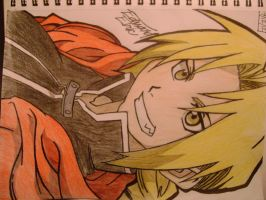 Edward Elric by Cheshiregirl999