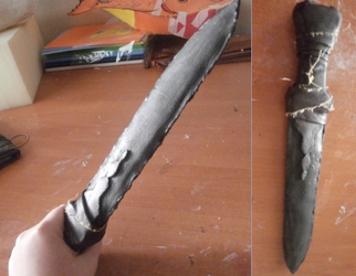 Hiccup Cosplay HTTYD Dagger by UnicornsInTheDryer