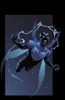 Blue beetle by Barros and Mayer by Ross-A-Campbell