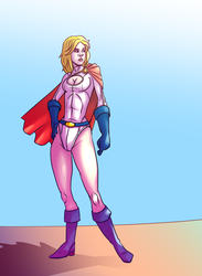 Power Girl by Mercvtio