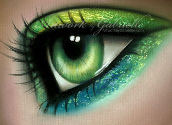 Mermaid Eye by GabrielleBrickey