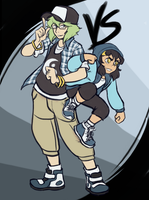 Street Dancer AU- Nathan and Linh by ReagentNein