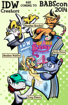 IDW Creators Are Coming to BABScon by SouthParkTaoist